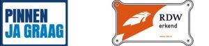 Logo pinnen & RDW