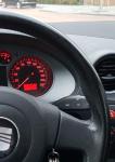 Seat Ibiza dashboard km stand